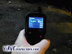 Relative humidity meter - WAVE Home Inspector MA CT RI